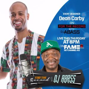 Dean Carby DJ Abass Fame TV
